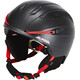 Alpina Snow Tour Helmet black-red matt